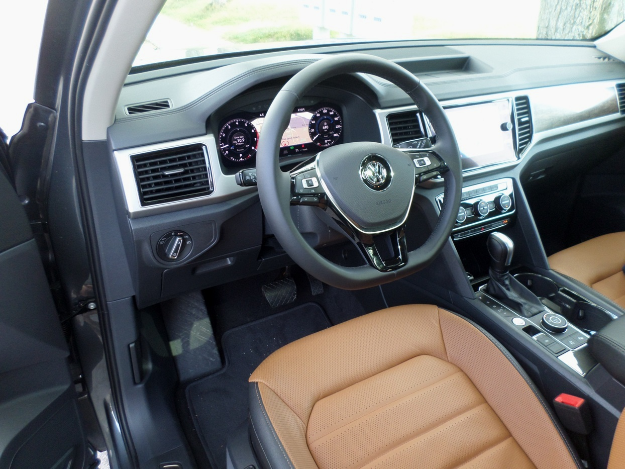 volkswagen atlas 2018 essais routiers actualit s. Black Bedroom Furniture Sets. Home Design Ideas