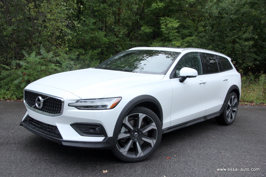 Essai Volvo V60 Cross country 2019