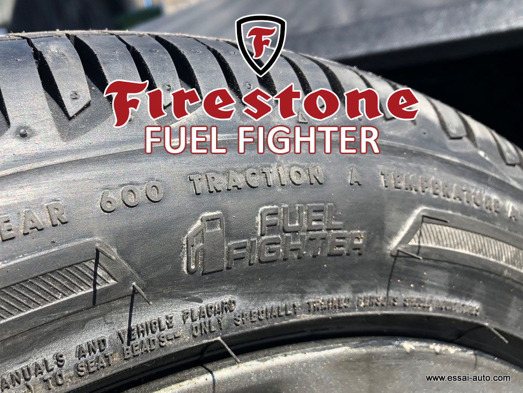 Essai pneu Firestone Fuel Fighter